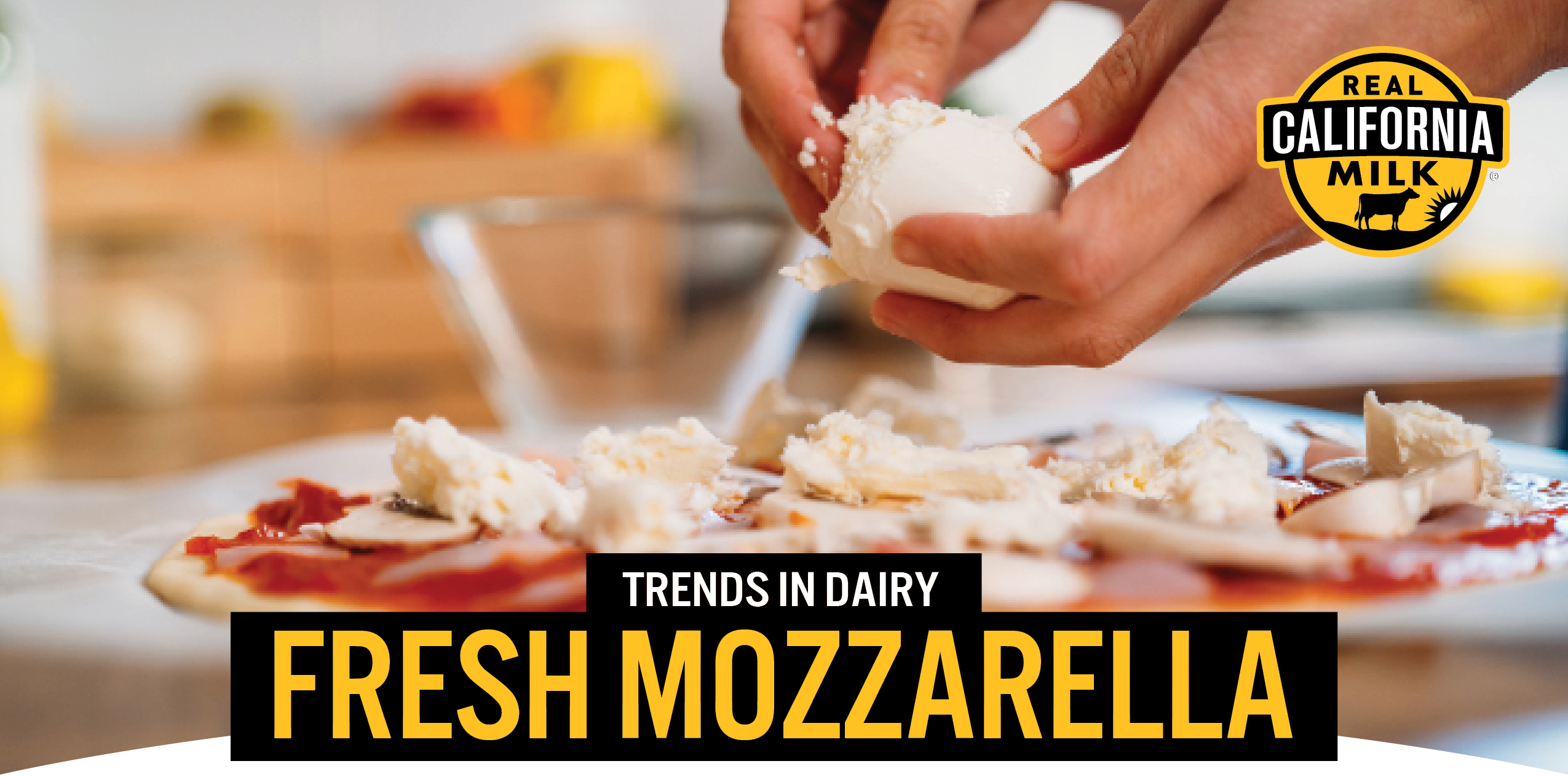 Trends in dairy: Fresh Mozarell