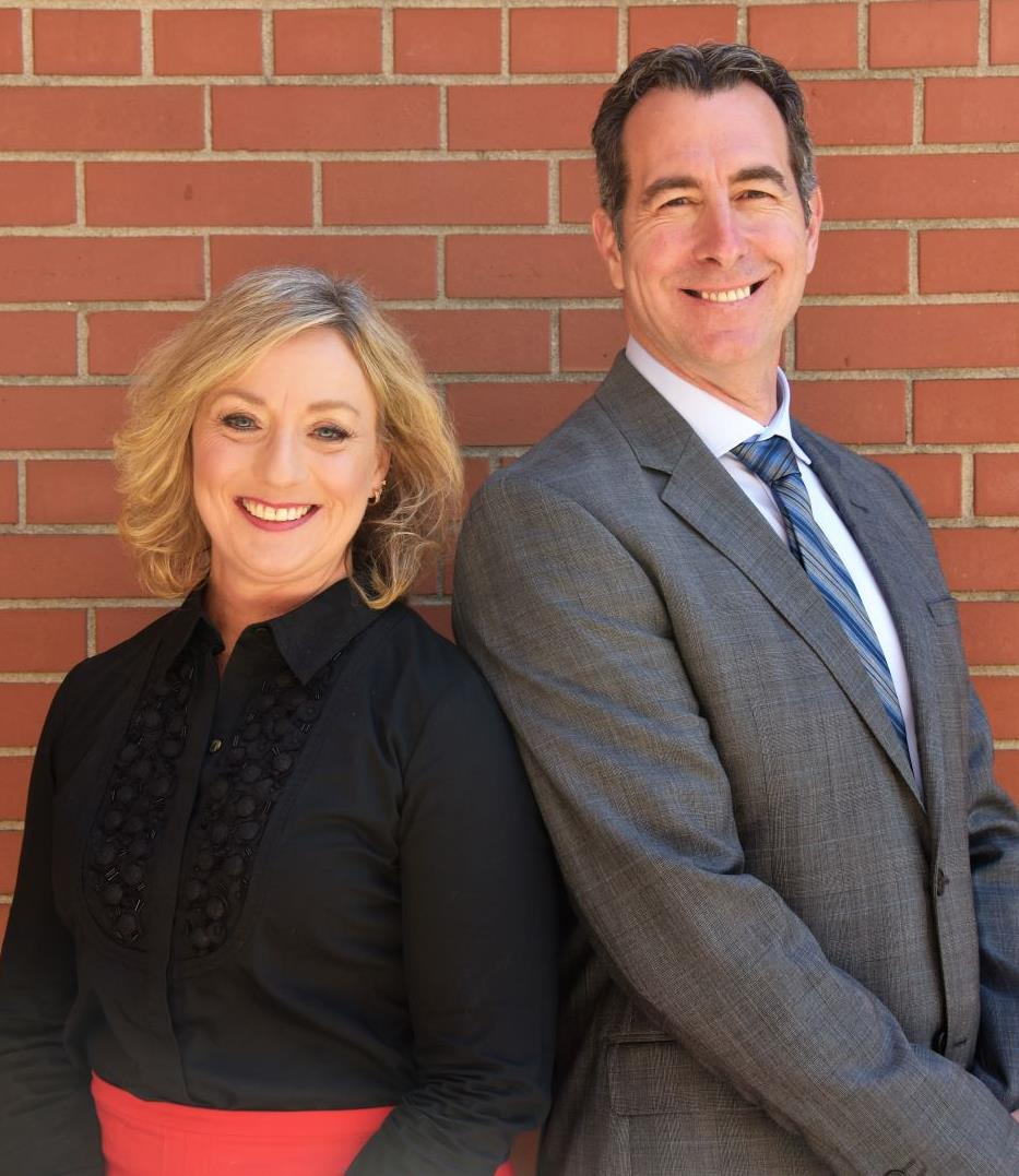 Sharilou and Mark- Your Executive Team