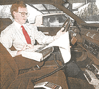 Rich Rector mobile real estate search in 1985