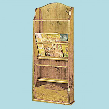 Magazine Racks Heirloom Pine Wall Rack 40