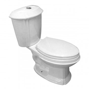 Sheffield Deluxe Two-piece Dual Flush Toilet White Elongated