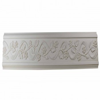 Crown Molding White Urethane 4 14 H Belle Maison Ornate