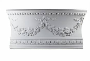Cornice White Urethane Sample of 18865 1875 Long