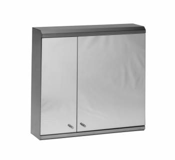Deluxe Series Medicine Cabinet Brushed Stainless Steel