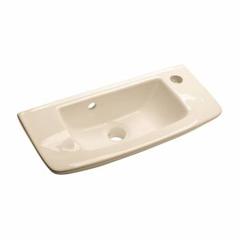Wall Mount Bathroom Sink Small Bone Basin With Overflow