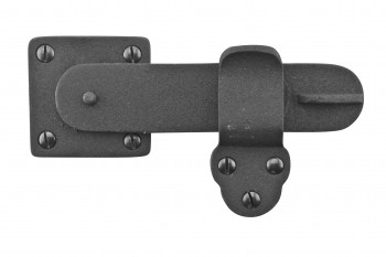 Gate Latch Black Wrought Iron 5 34 by 3 38
