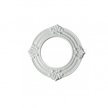 Spot Light Ring White Trim 6 ID x 10 OD Mini Medallion