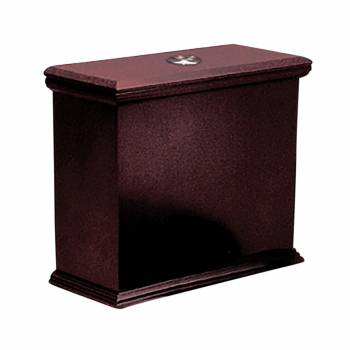 Lowboy Flat Panel TANK ONLY Cherry Finish