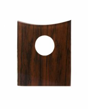 Mahogany Waterfall Faucet Plate Only Fits Square Base Faucet Only