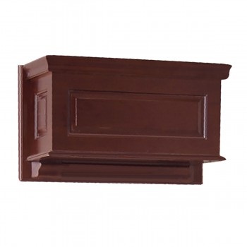Cherry Finish  Raised Panel  High Tank ONLY