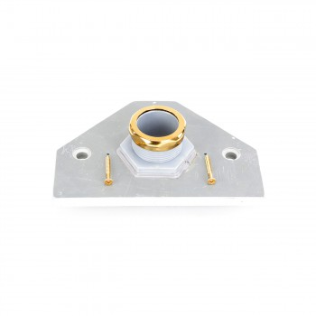 Plastic Conversion Panel for Z-pipe Toilet Brass PVD