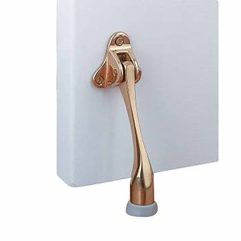 Door Stop Kickdown Solid Brass Bumper