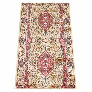 Runner Area Rug 2 2 Wide Sold by Foot Red Silk Blend