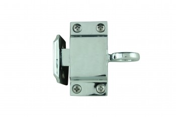 Chrome Solid Brass Transom Window Latch