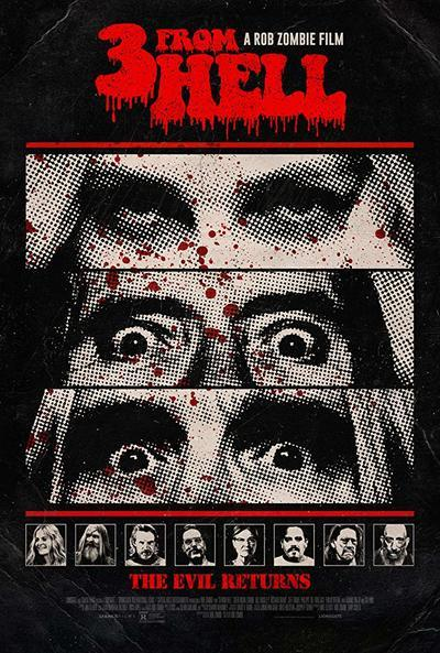 3 from Hell movie poster