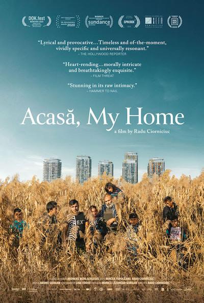 Acasa, My Home movie poster