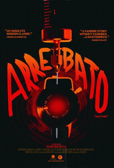Arrebato movie poster