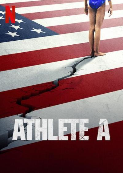 Athlete A movie poster