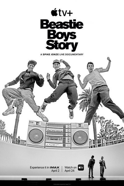 Beastie Boys Story movie poster