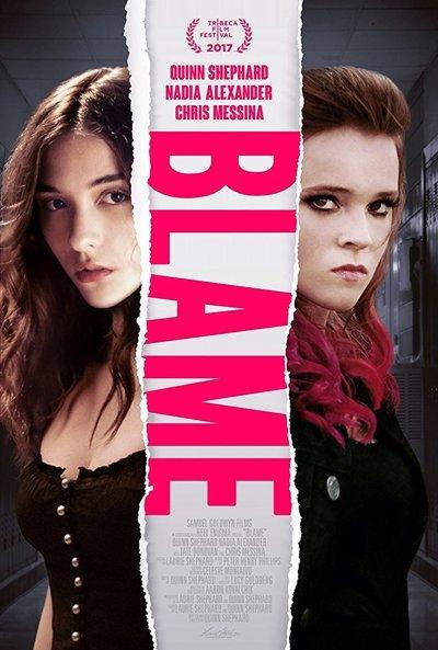 Blame movie poster
