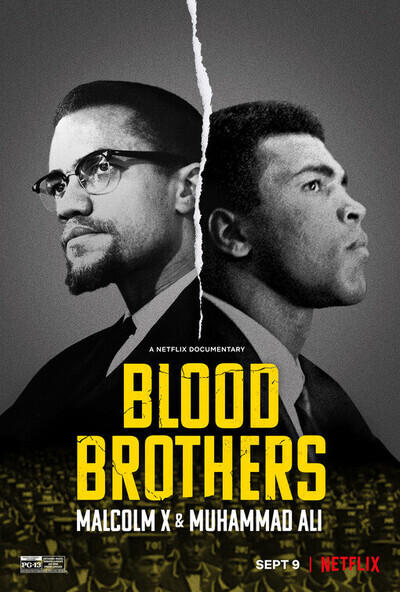 Blood Brothers: Malcolm X & Muhammad Ali movie poster