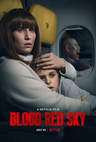 Blood Red Sky movie poster