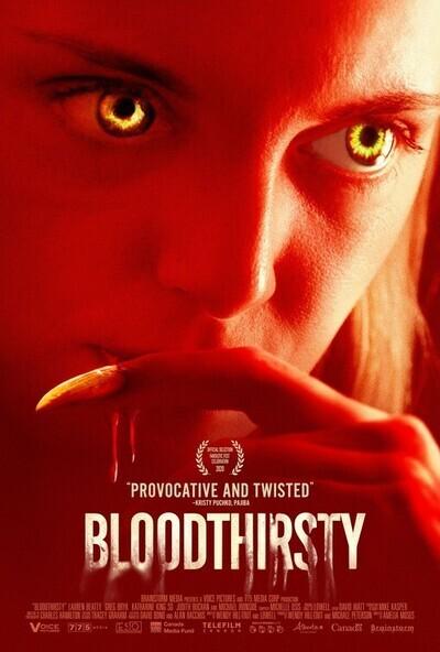 Bloodthirsty movie poster