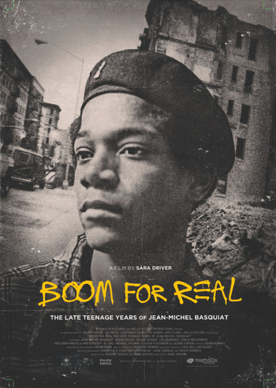 Boom for Real: The Late Teenage Years of Jean-Michel Basquiat movie poster
