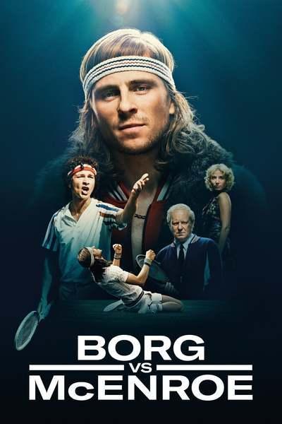 Borg vs McEnroe movie poster
