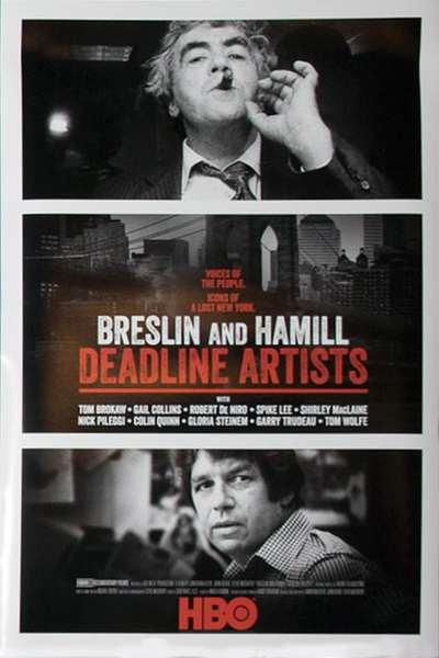 Breslin and Hamill: Deadline Artists movie poster