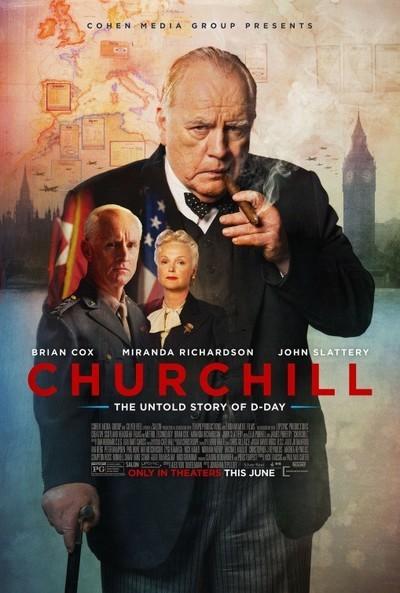 Churchill movie poster