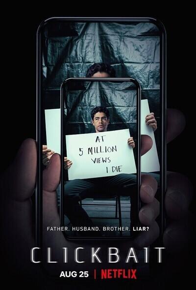 Clickbait movie poster