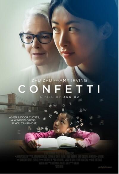 Confetti movie poster