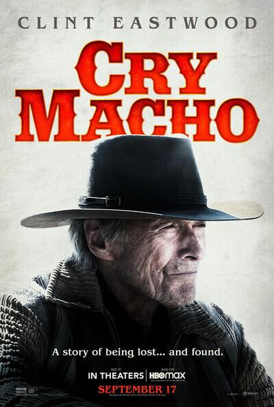 Cry Macho movie poster