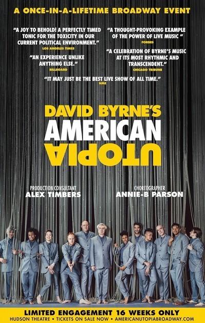 David Byrne's American Utopia movie poster