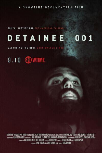 Detainee 001 movie poster