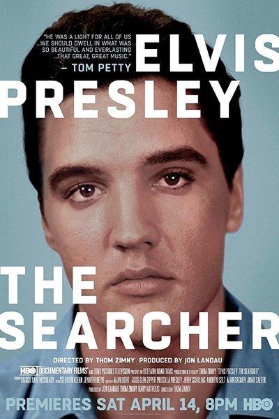 Elvis Presley: The Searcher movie poster