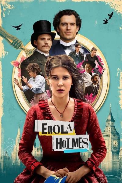 Enola Holmes movie poster