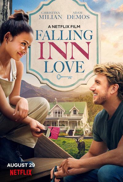 Falling Inn Love movie poster
