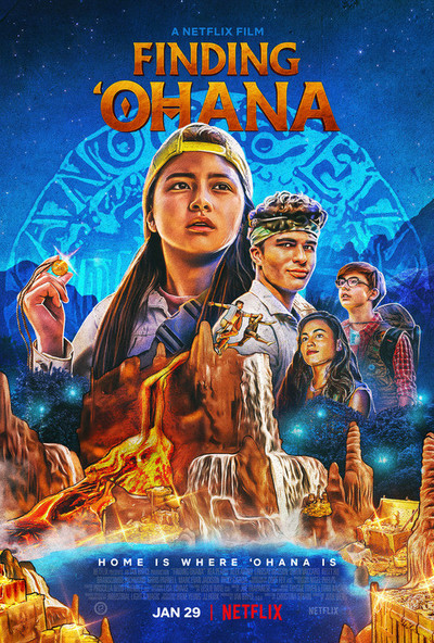 Finding 'Ohana movie poster