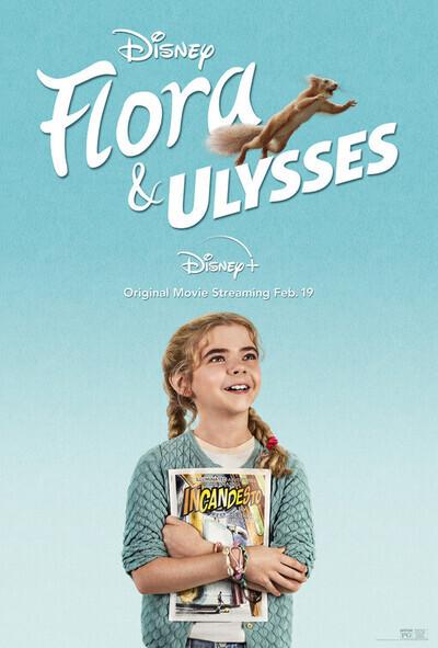 Flora & Ulysses movie poster