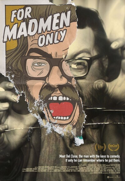 For Madmen Only movie poster