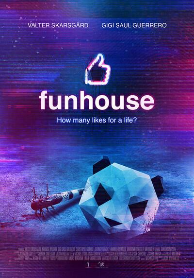 Funhouse movie poster