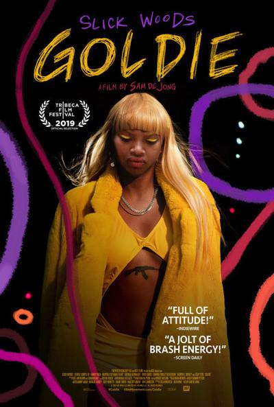 Goldie movie poster