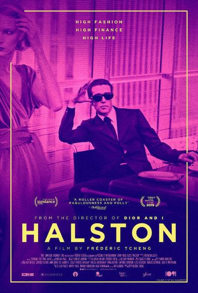 Halston movie poster