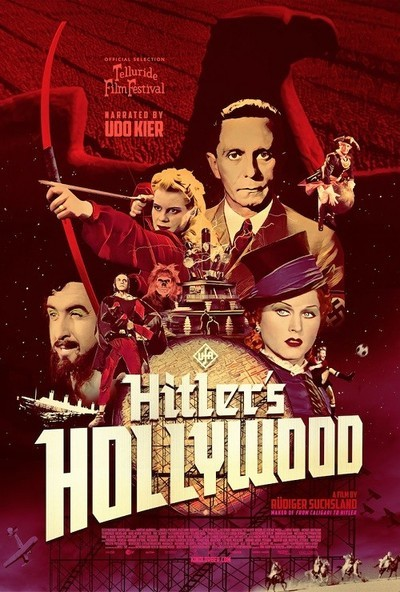 Hitler's Hollywood movie poster