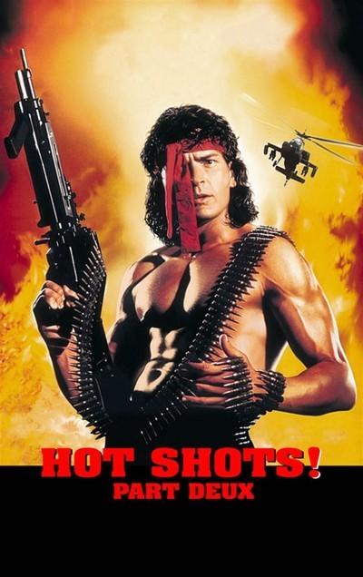 Hot Shots! Part Deux movie poster