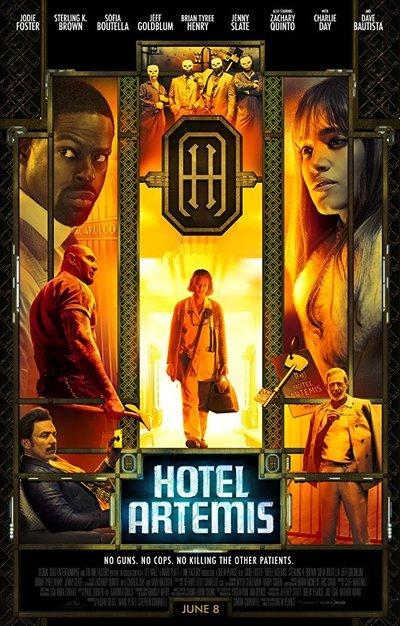 Hotel Artemis movie poster