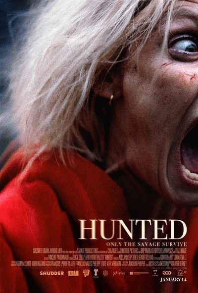 Hunted movie poster