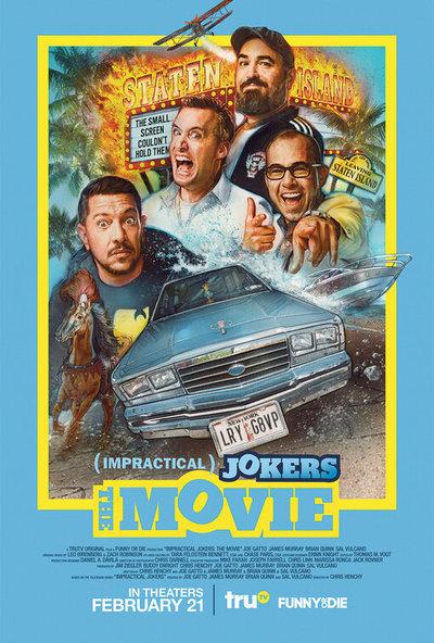 Impractical Jokers: The Movie movie poster